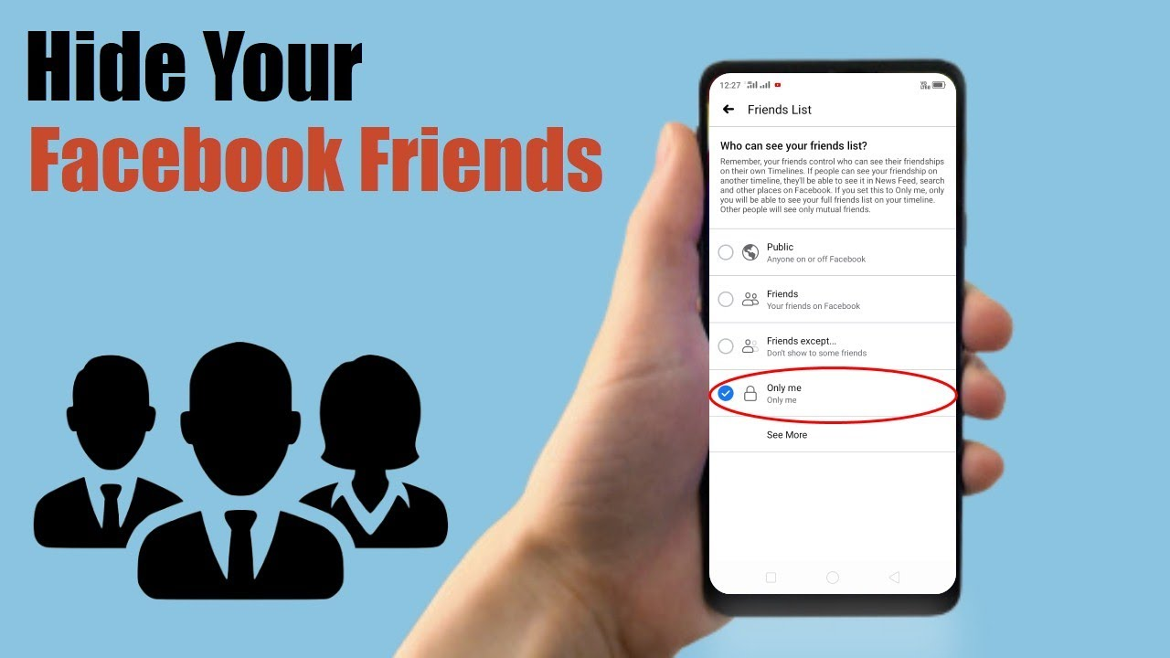 How To Disable Add Friend Button On Facebook 2019 - YouTube
