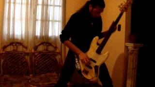 Kreator - Servant in heaven king in hell Bass cover