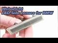 WeissLicht LED Side Lenses for BMW