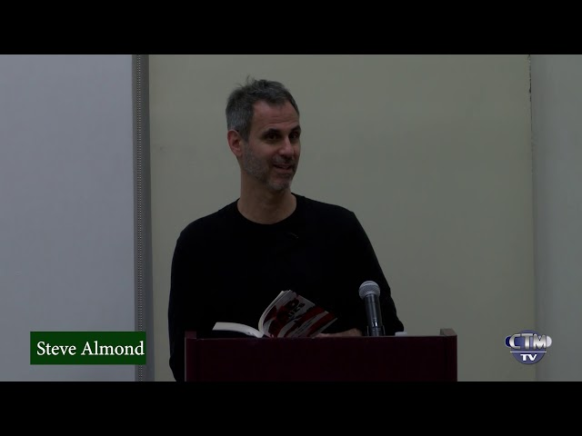 Library Hour: Steve Almond, author of