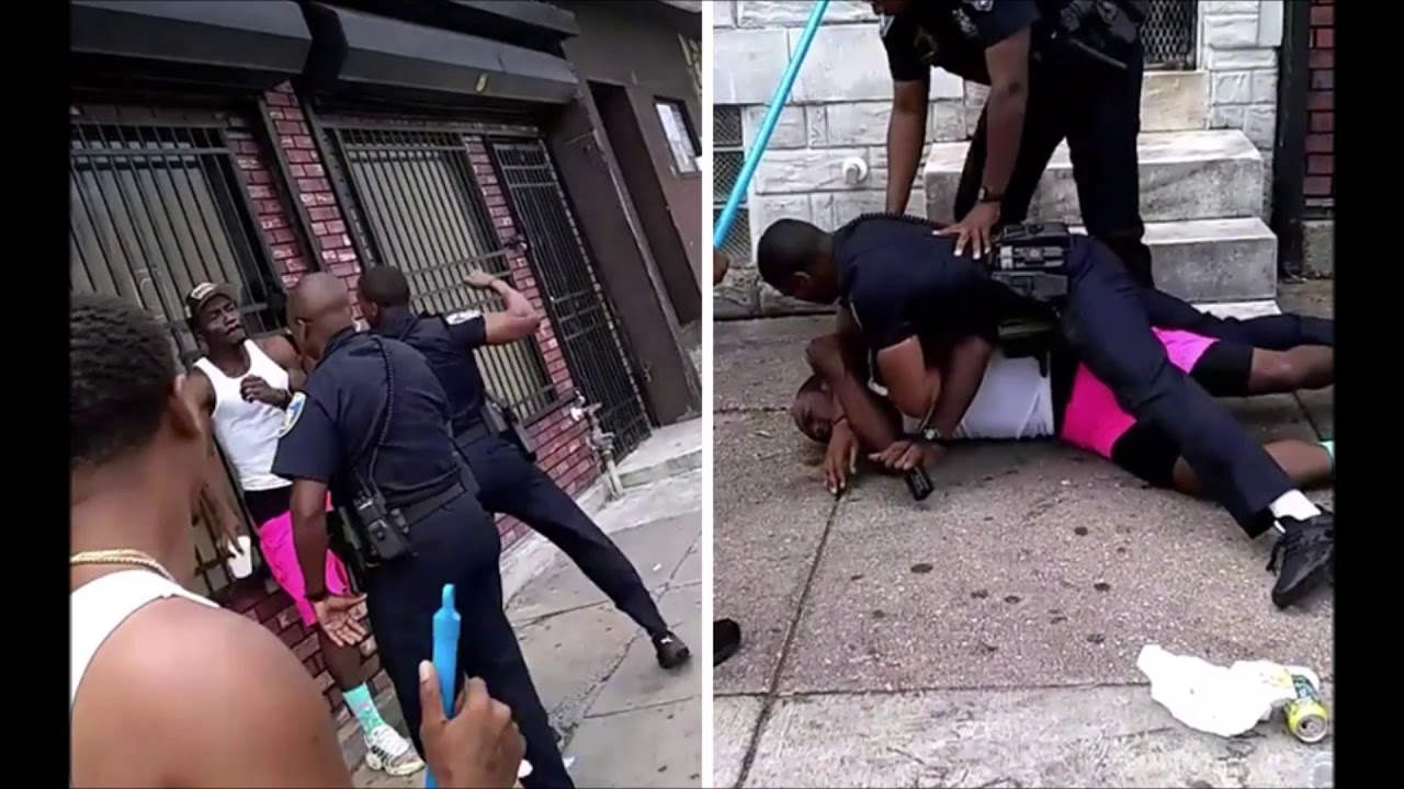 Baltimore Officer Suspended After Allegedly Beating Man In Viral Video