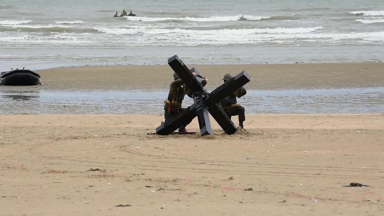 Navy Combat Demolition Unit D-Day Reenactment UTAH BEACH, FRANCE 06 07 2019