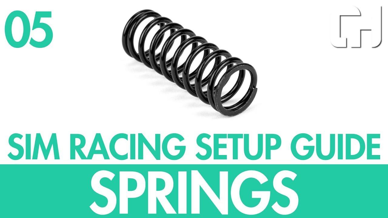 Sim Racing Setup Guide 05 – Suspension Springs