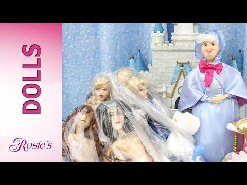 Thrift Shop Dolls Part 6 - Disney Cinderella Dolls and Castle