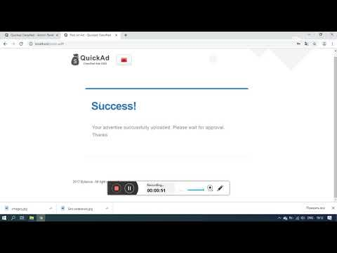 Quickad Classified - Offline payment and approve it
