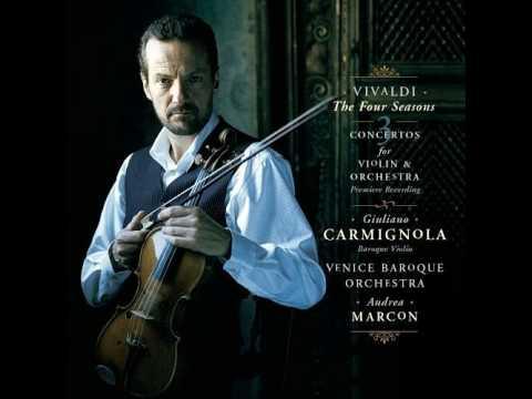 """Vivaldi - The Four Seasons """"Winter"""" / Le Quattro Stagioni """"L'inverno"""" (Giuliano Carmignola)"""