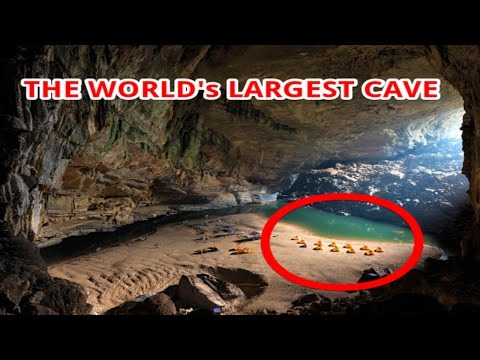 [WOW] Inside the world's LARGEST cave that has its own rainforest and beach