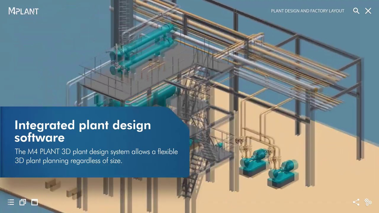 3d Plant Design Factory Design Software M4 Plant Youtube