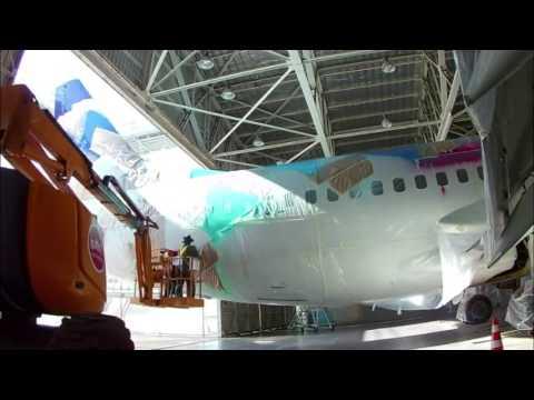 Trabajos de mantenimiento para LAW Latin American Wings, Chile