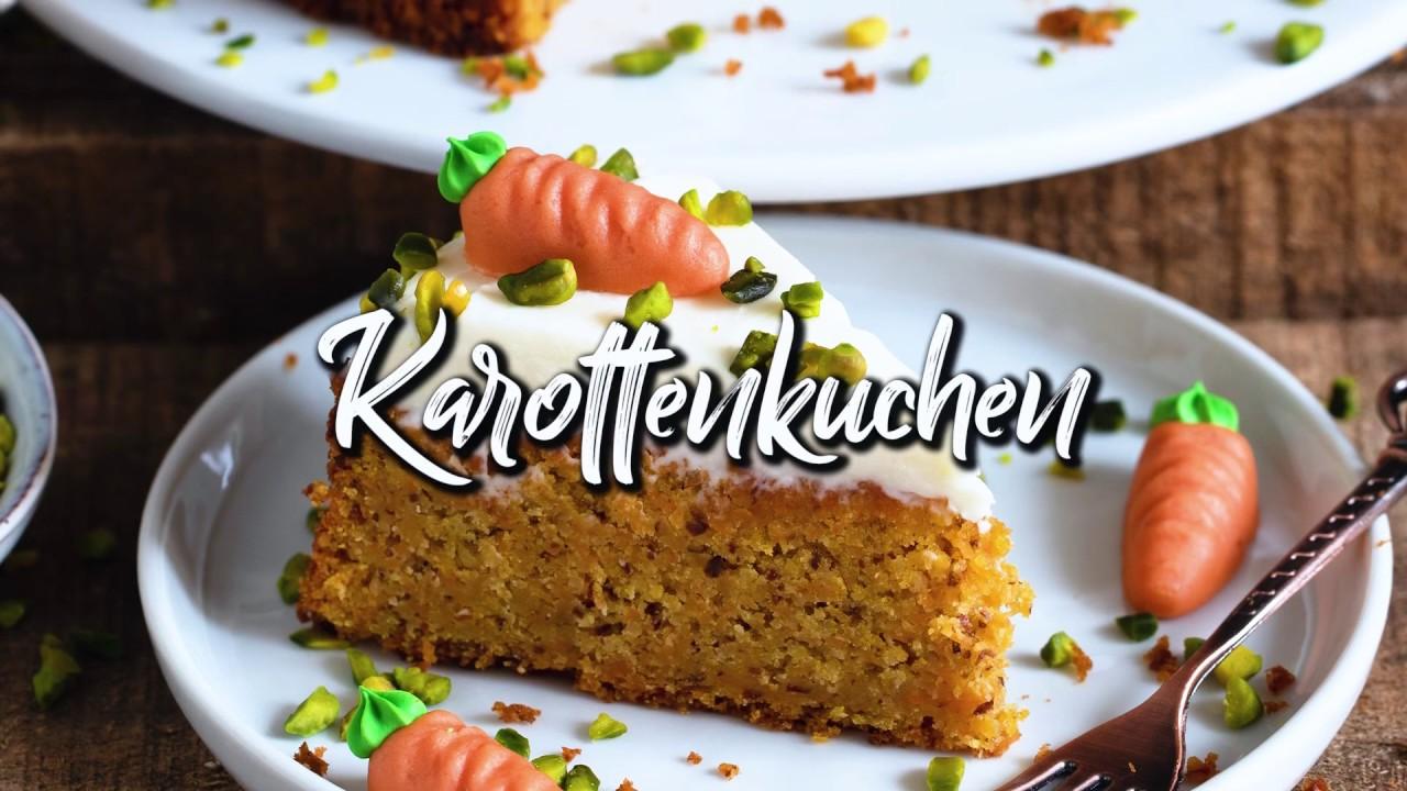 Der Beste Karottenkuchen (Veganer Möhrenkuchen, Rüblikuchen) * Saftig, einfach & so lecker! *