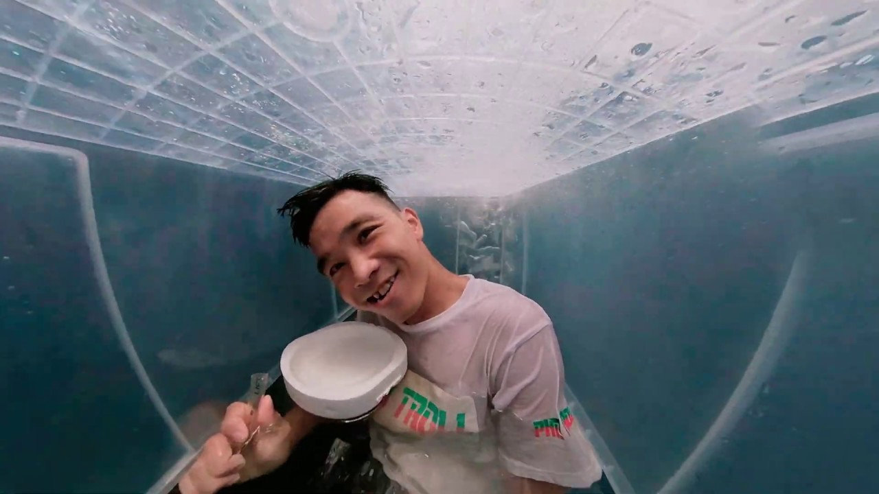 24h Lặn Dưới Nước | 24 Hour Underwater Diving Challenge | PHD Troll