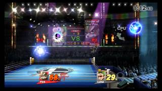 Super Smash Bros. Wii U - Minor Circuit Remix - Punch-Out!! (Direct Feed)
