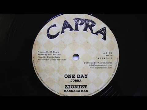 "Jobba, Mannaro Man, Dennis Capra, Real Rockers - One Day / Zionist   12"" Capra"