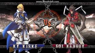Guilty Gear 2 Steam: CPU Match 2 (Ky VS Sol)