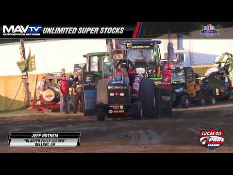 PPL 2017: Unlimited Super Stocks Pulling At The Midwest Summer Nationals On Thursday