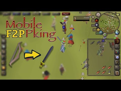 OSRS Mobile   Low lvl F2p pking #1