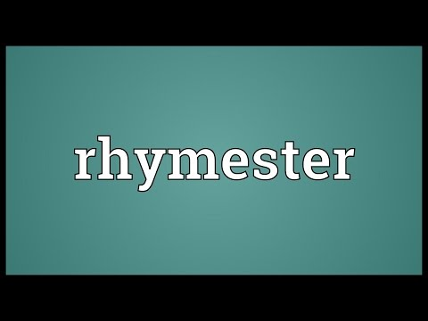 Header of rhymester