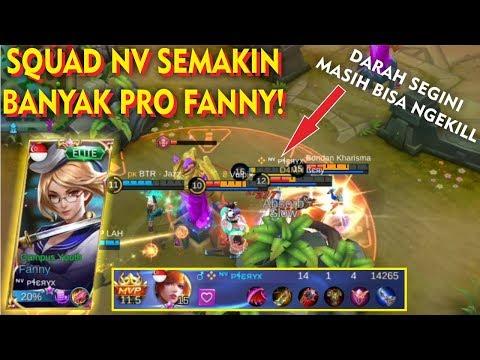 Lagi - Lagi! Setelah Zxuan Dan Hallu Ada Member Squad NV Yang Pro Fanny (ᶰᵛ ᴘɬɛяʏx)