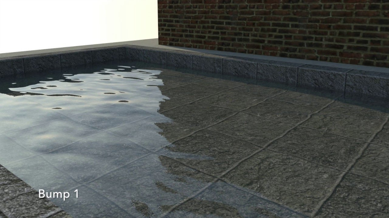 Tuto easy realistic water sketchup vray tuto youtube for Pool design sketchup