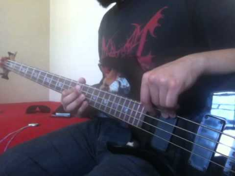 Dirge - Death In Vegas (bass cover)