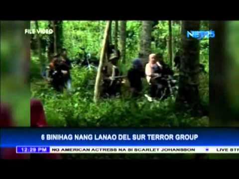 Lanao del Sur terror group holds six captives