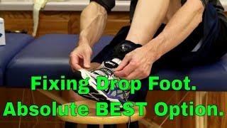 Fixing Drop foot. Absolute BEST Option When It Wont Get Better Video