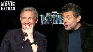 Black Panther (2018) Martin Freeman & Andy Serkis talk about their experience making the movie