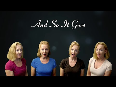 And So It Goes - a cappella Billy Joel cover by Julie Gaulke