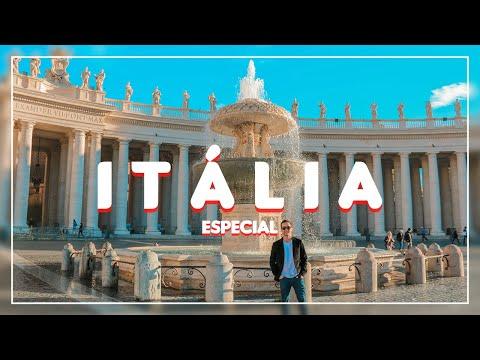 NOSSA HOMENAGEM À ITÁLIA   Parte 1