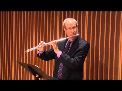 Leonard Garrison presents Georges Brun's Romance for Flute and Piano