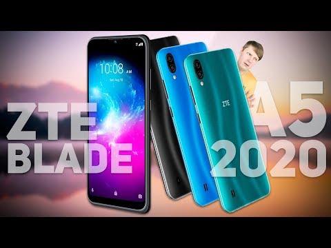 ZTE BLADE A5 2020: СМАРТФОН ДО 7000 РУБЛЕЙ