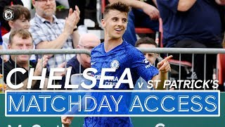 🎥 Matchday Access: Chelsea 4-0 St Patrick's | Mason Mount Scores