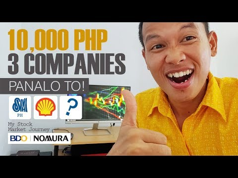 My First 3 Companies || 10,000 Php - BDO Nomura - Stock Market Journey