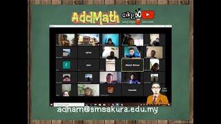 Download Mp3 Geometric Progression Rakaman Live Zoom Online Class Addmath 4 Agathum, 2 April