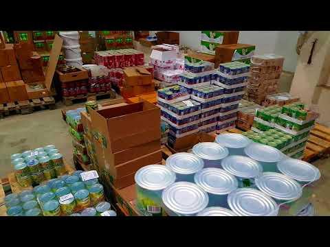 Поставка продуктов питания оптом и мелким оптом со Склада