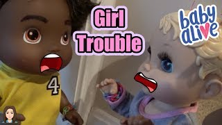 Baby Alive Boys Get Girlfriends: Girl Trouble | Kelli Maple