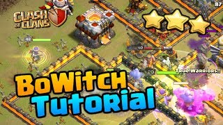 """BOWITCH TUTORIAL - My 3 Star Attacks Explained in """"Clash of Clans"""" - Best TH11 Attack Strategy 2018"""