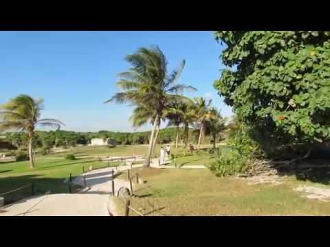 Beautiful Scenic Views at Tulum Mayan Ruins