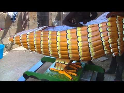 Novelty coffin making in teshie-accra,ghana pt4