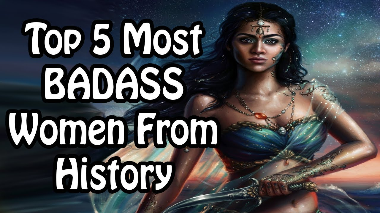 Top 5 Most BADASS Women From History (International Women's Day)