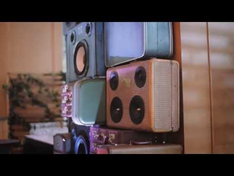 Bluetooth speakers in vintage suitcases - Portmanteau INVANCITY