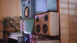 Bluetooth speakers in vintage suitcases - Portmanteau INVANCITY