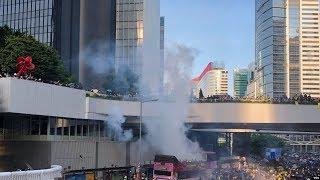 VOA连线(叶兵):香港危机持续 北京表态强硬