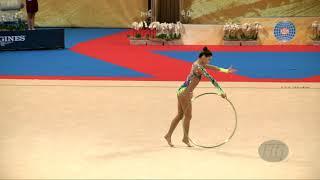 KIM Chaewoon (KOR) - 2018 Rhythmic Worlds, Sofia (BUL) - Qualifications Hoop