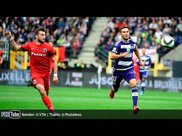 2015-2016 - Jupiler Pro League - 12. RSC Anderlecht - Club Brugge 3-1