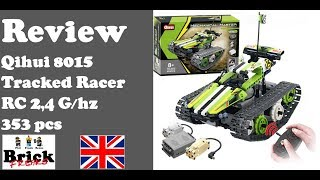 Review Qihui 8015 - Tracked Racer - Mechanical Master
