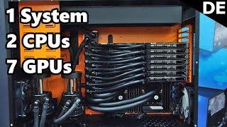 EK WB - Neuer CPU Block, Wasserkühlung aus Holz und beeindruckendes Workstation System