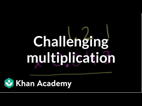 Multiplying Challenging Decimals | Decimals | Pre-Algebra | Khan Academy