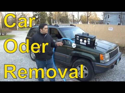 How To Get Rid Of Smoke Smell In Car Ozone