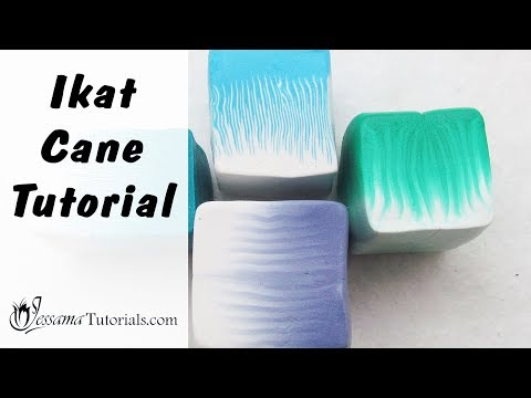 How to Make Ikat Canes (Credit to Donna Kato)